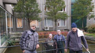 Ledigen binnen vijver Ocmw Bredene